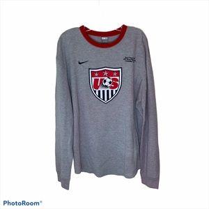 Nike US Men's Soccer Team Long Sleeve T-Shirt